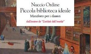 """Instant book: """"Classici per la vita. Una piccola biblioteca ideale"""", by Nuccio Ordine."""