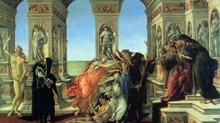 "Intercultural Museum of Lech Lechà: ""The calumny"" of Sandro Botticelli"