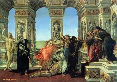 "Intercultural Museum of Lech Lechà: ""The calumny"" of Sandro Botticelli"