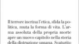 """#Instantbook: Donatella Di Cesare presenta """"Terrore e modernità"""" (Einaudi 2017)."""