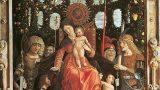 """Intercultural Museum of Lech Lechà: """"Madonna della Vittoria"""" of Andrea Mantegna, by Daniele Liberanome."""